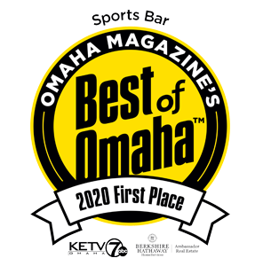 Omaha Magazine's Best of Omaha Award, 2019 First Place Sports Bar